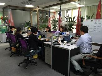 恒健海外办公区